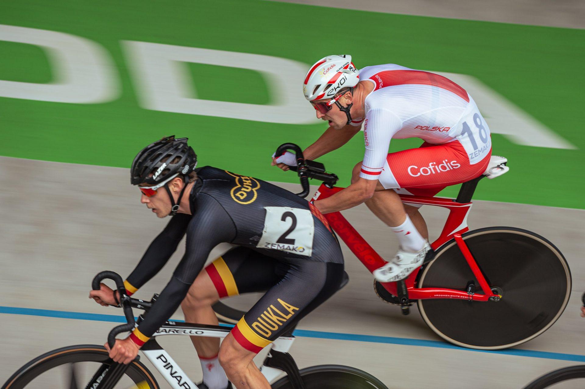 Polák Szymon Sajnok se stal šampionem letošního ročníku 500+1 kolo na starém brněnském velodromu.