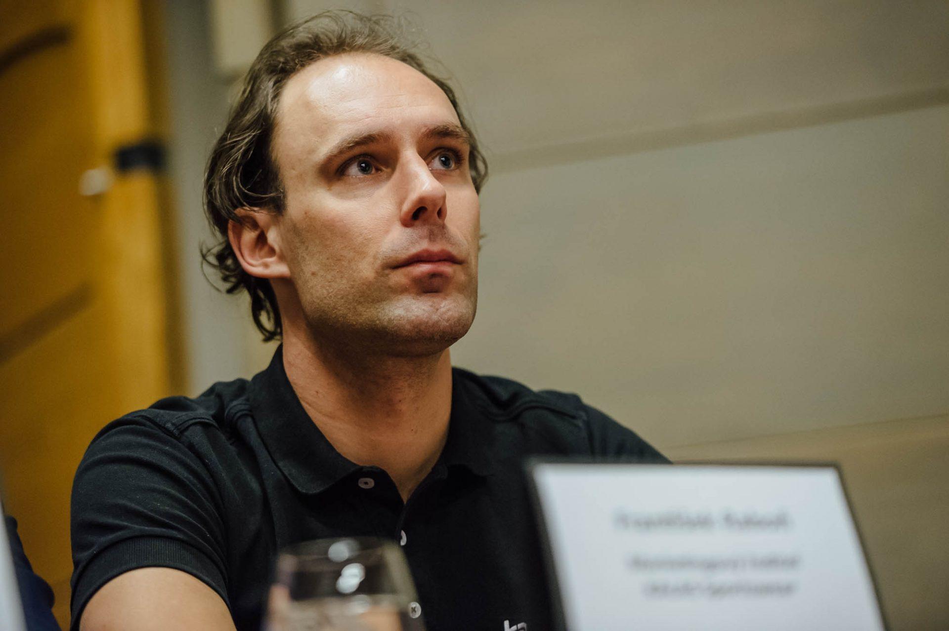 František Raboň, bývalý profesionál, nyní ve službách firmy Kalas. Foto: Jan Brychta (3x)