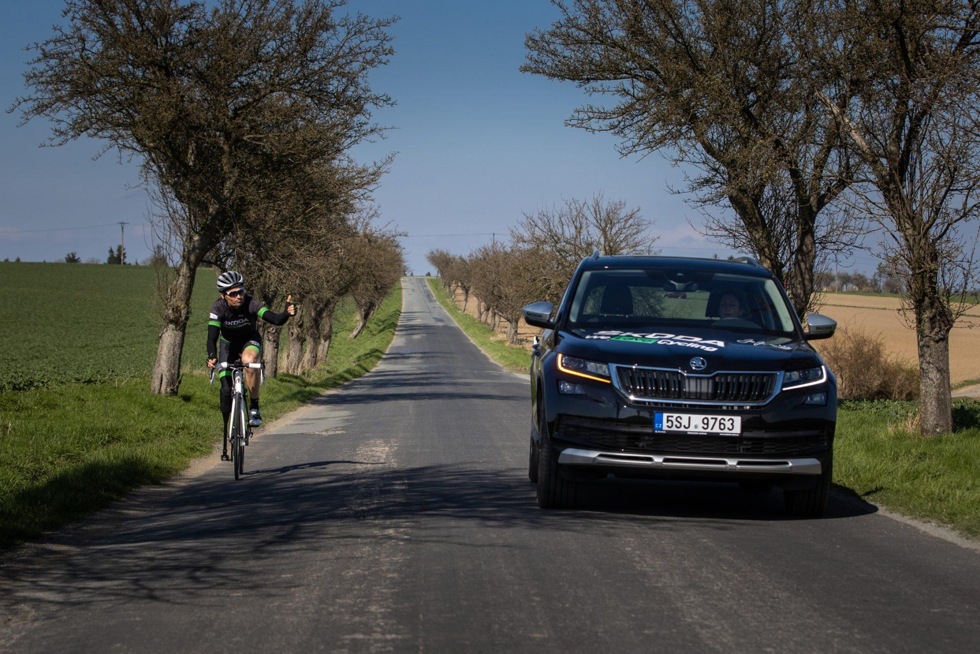 Předjetí cyklisty ve vzdálenosti 1,5 metru? Jde hlavně o vzájemný respekt.