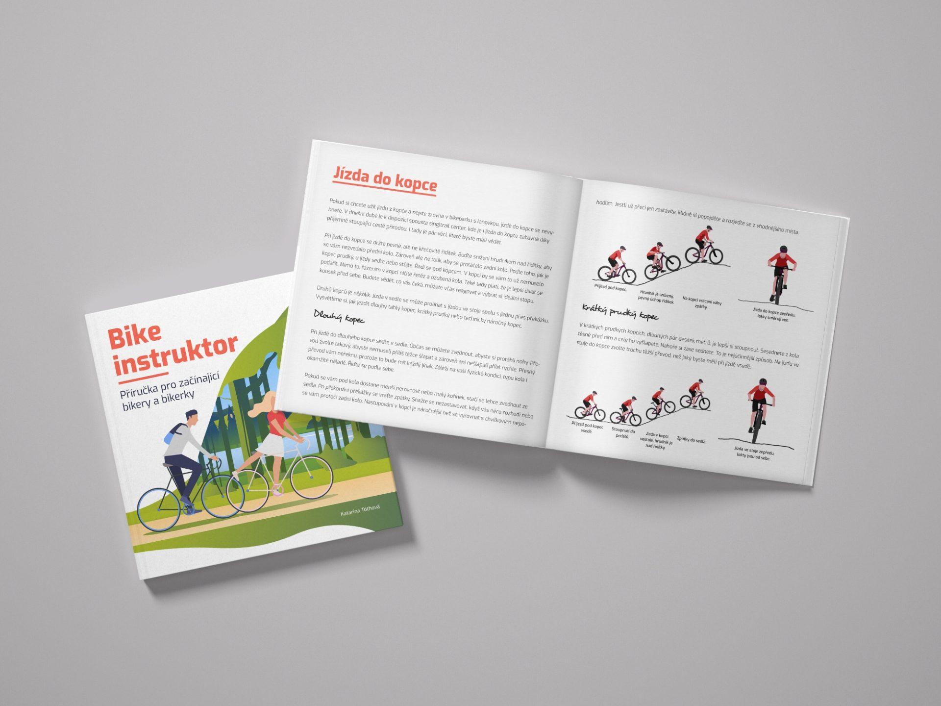 Bike instruktor: příručka pro začínající bikery a bikerky