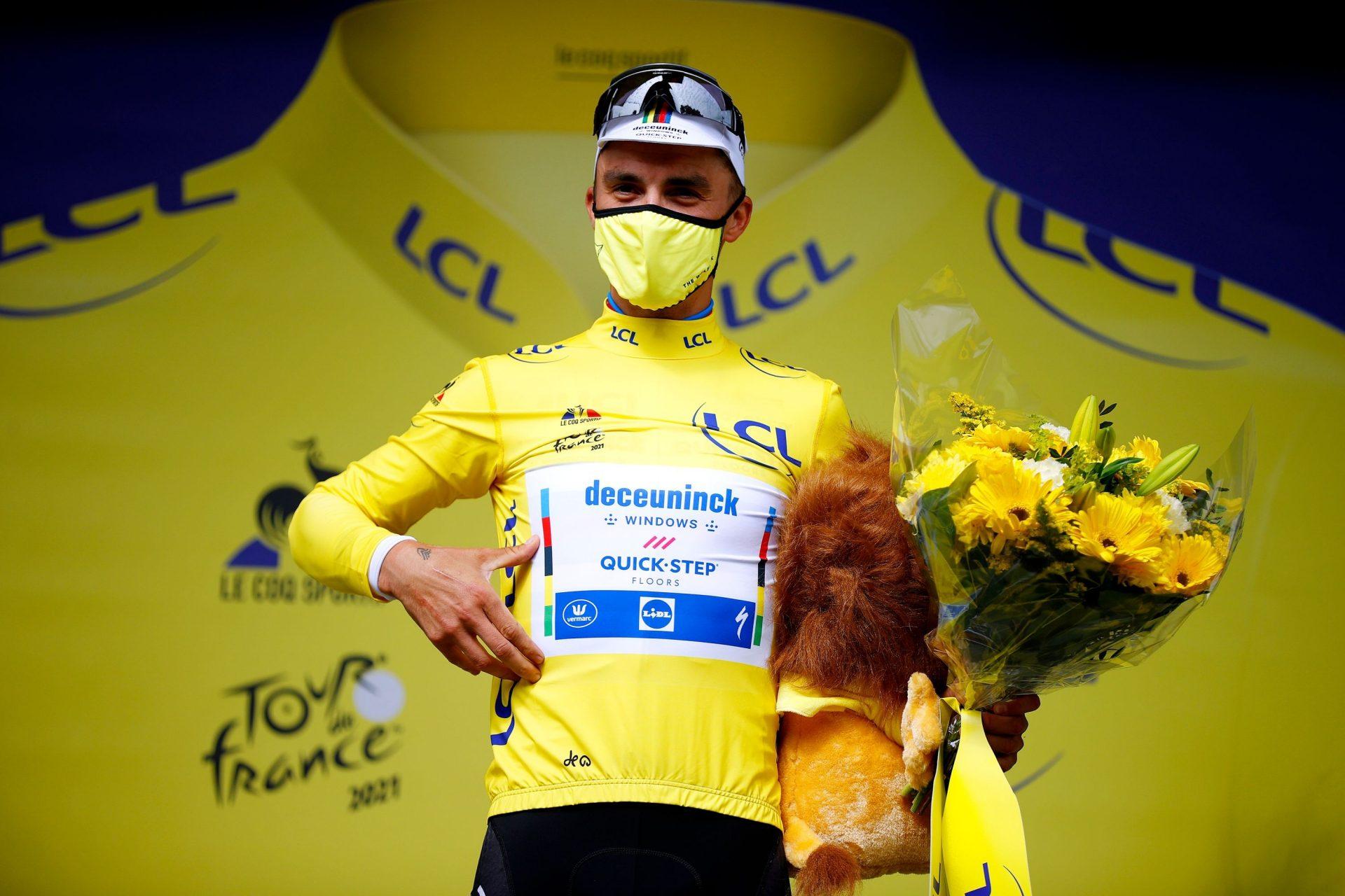 Tour de France, žlutý dres a tradiční maskot?