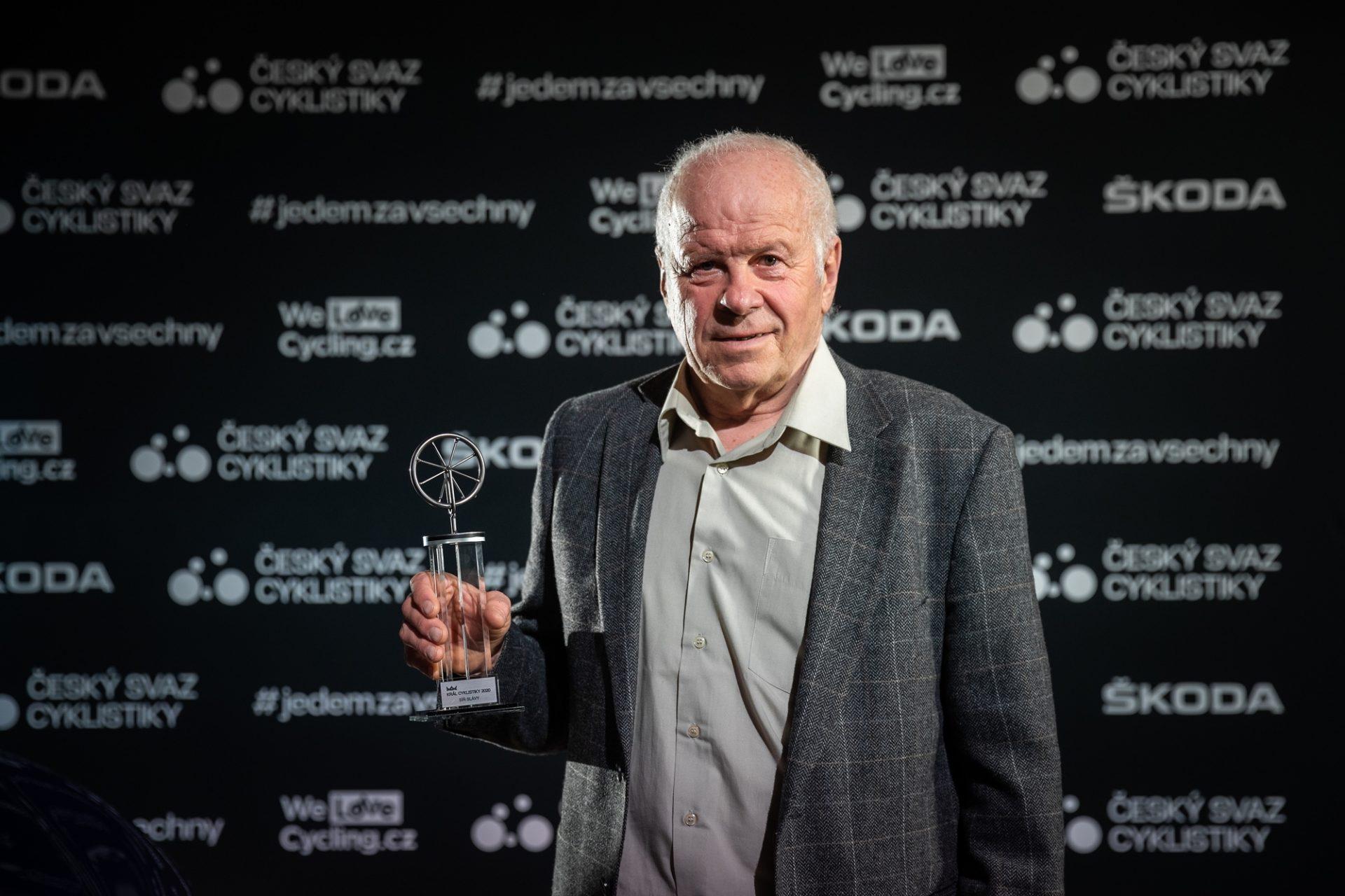 Antonín Bartoníček byl na jaře 2021 uveden do Síně slávy Českého svazu cyklistiky. Foto: Michal Červený