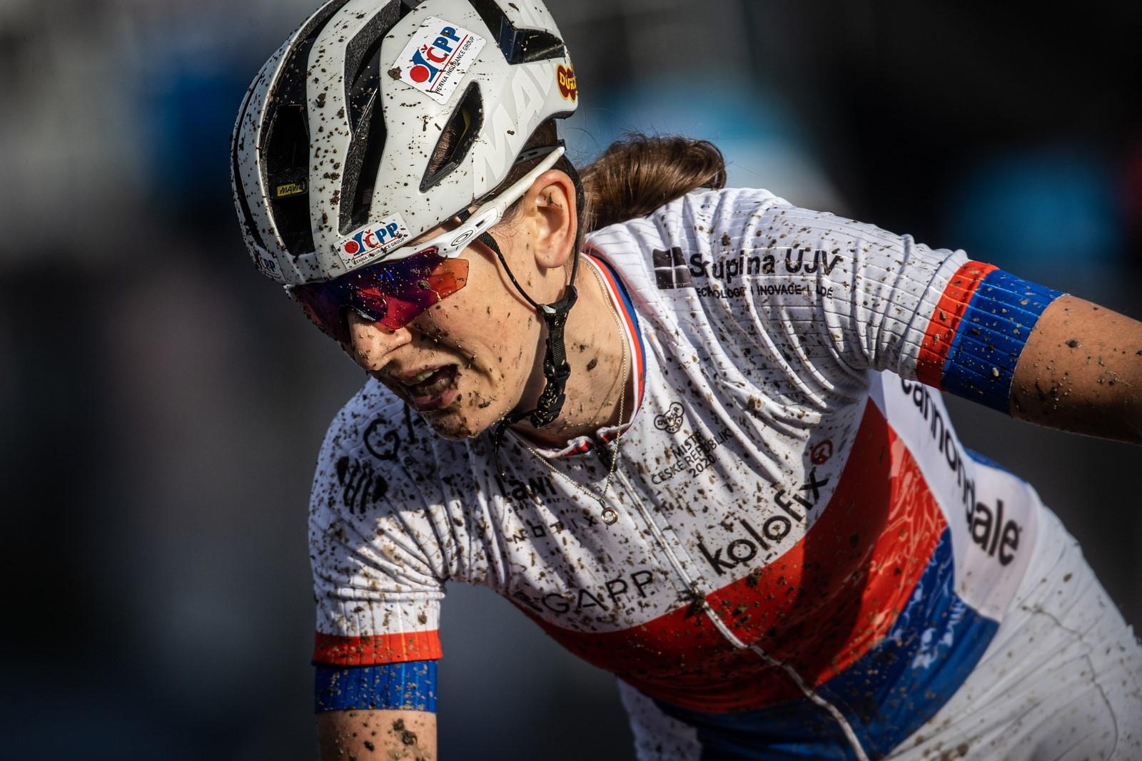Jitka Čábelická, česká reprezentantka v cross country pro olympijské hry v Tokiu. Foto: Michal Červený (3x)