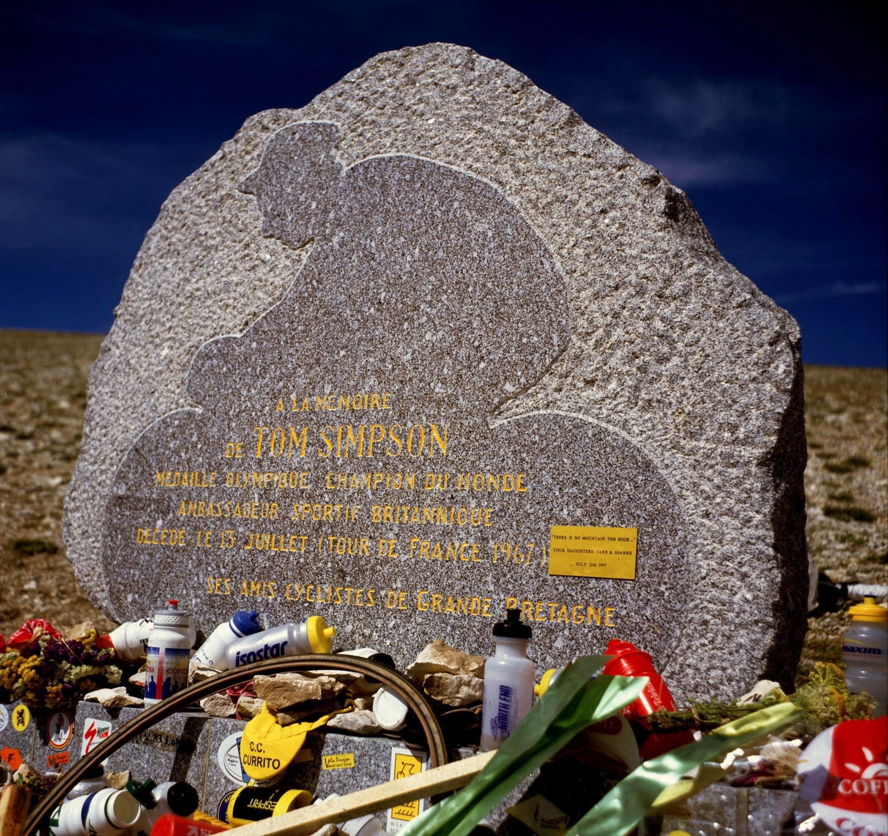 Tom Simpson se stal obětí Mont Ventoux. Foto: profimedia