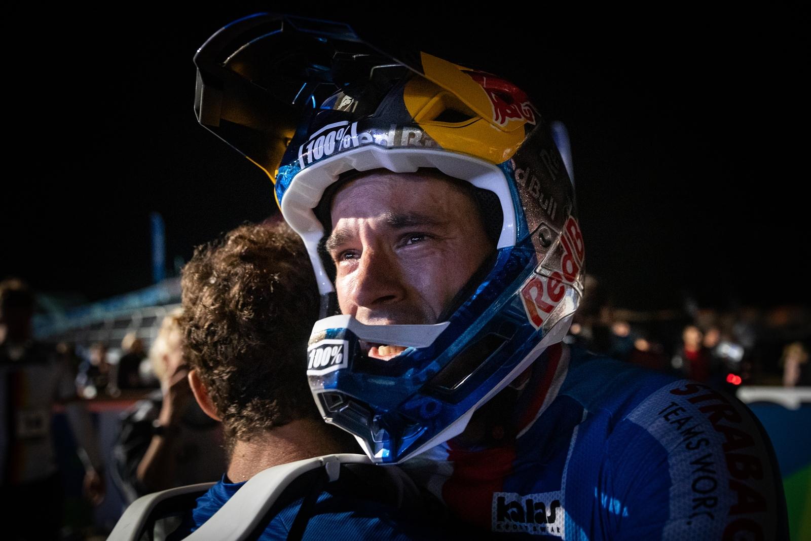 Tomáš Slavík patří ve světě fourcrossu mezi matadory. I tak získal ve Val di Sole titul mistra světa.