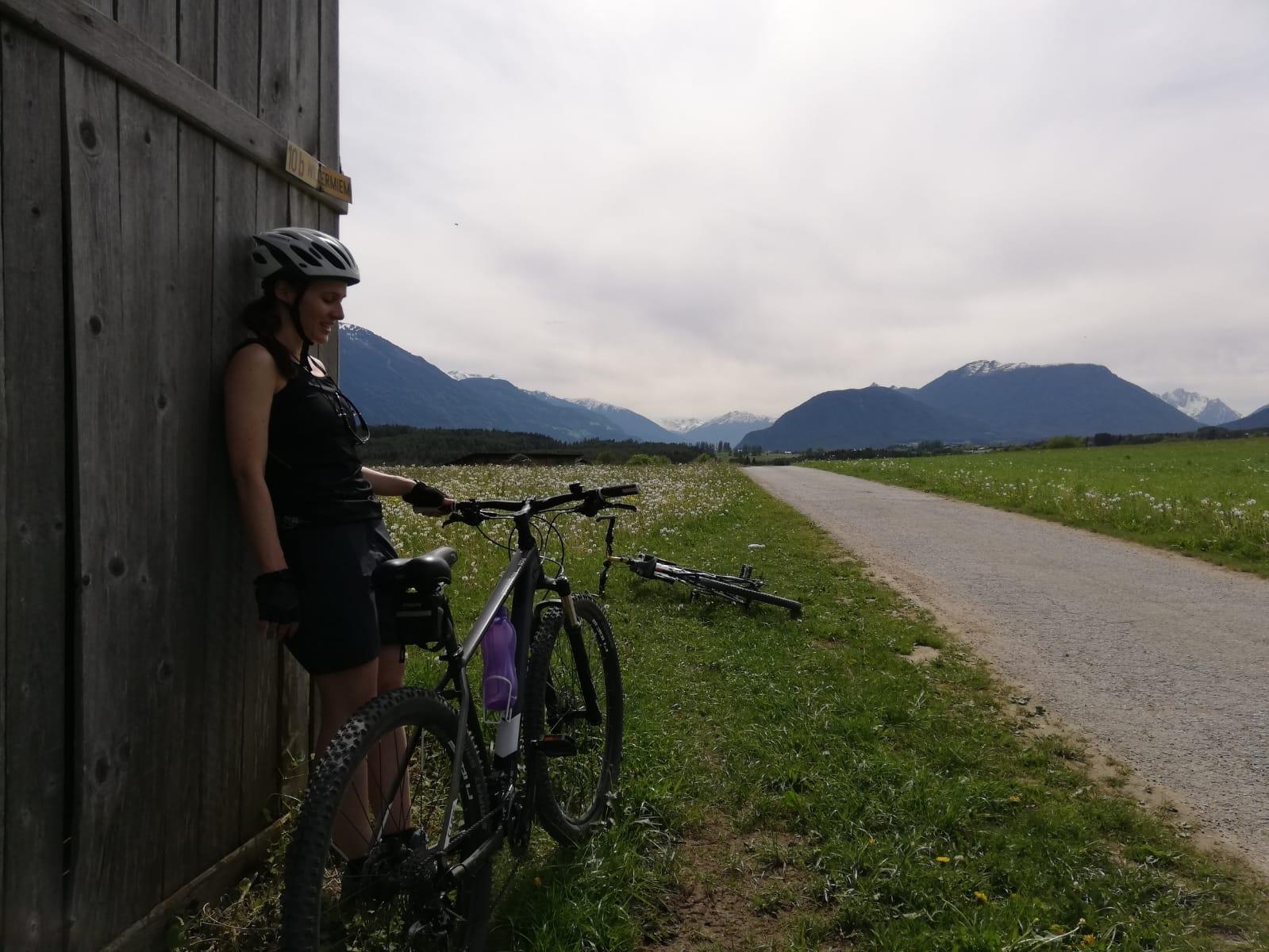 Petra Bučková na jednom z četných výletů v Tyrolsku, kde žije její přítel. Foto: archiv Petry Bučkové (3x)