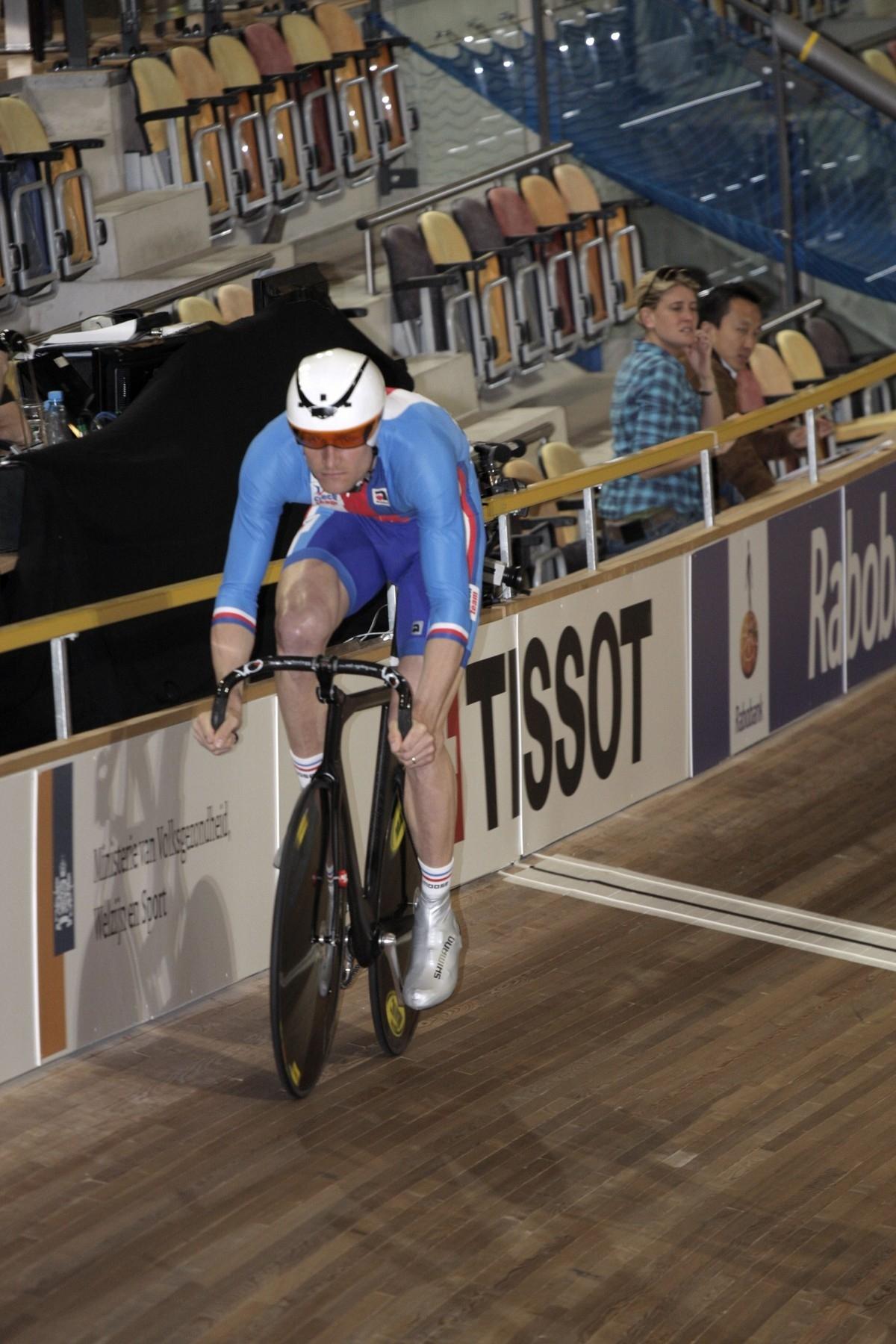Alois Kaňkovský na dráze při mistrovství světa 2011. Foto: profimedia