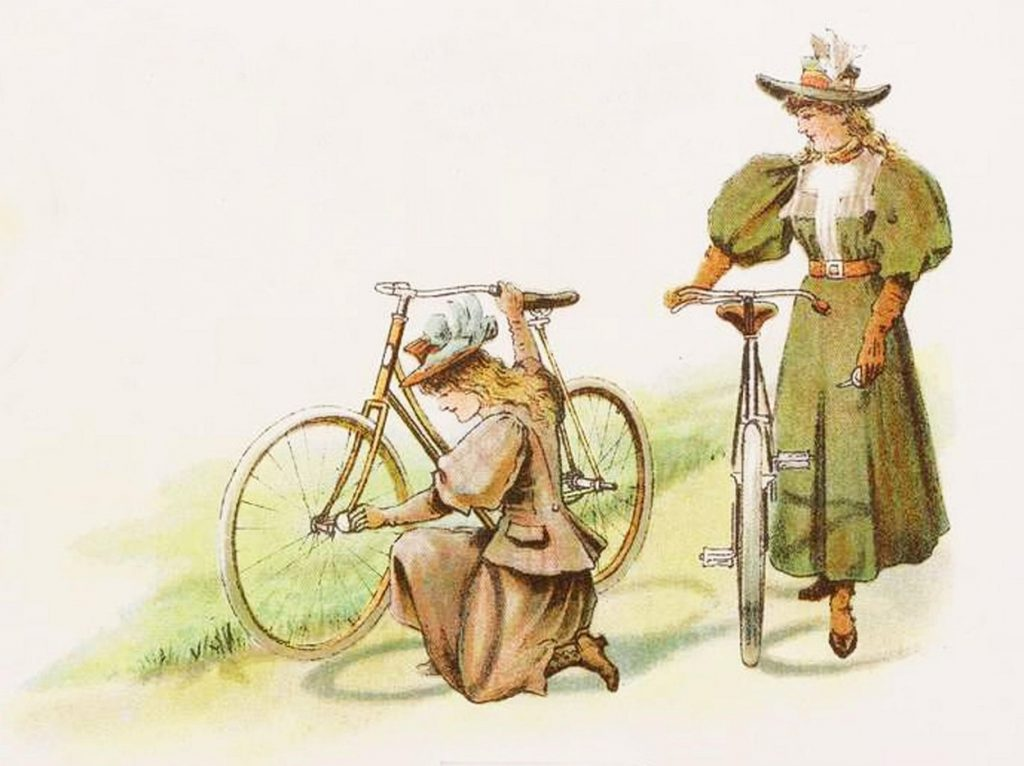 Retro Cycling Picture