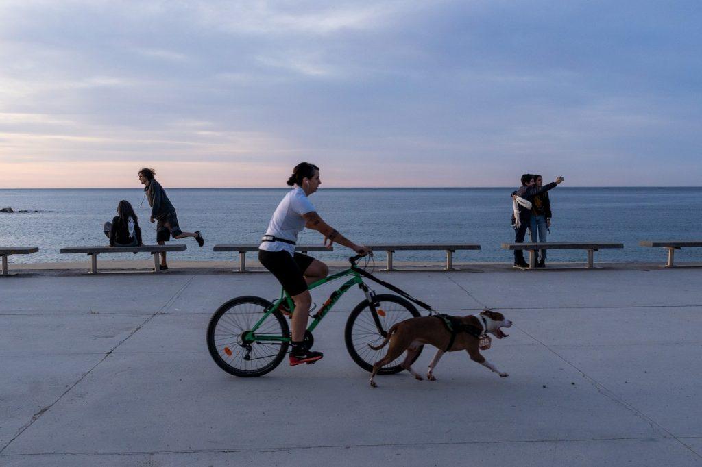 Barcelona cycling
