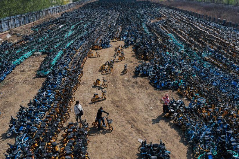 Shenyang bicycle graveyard