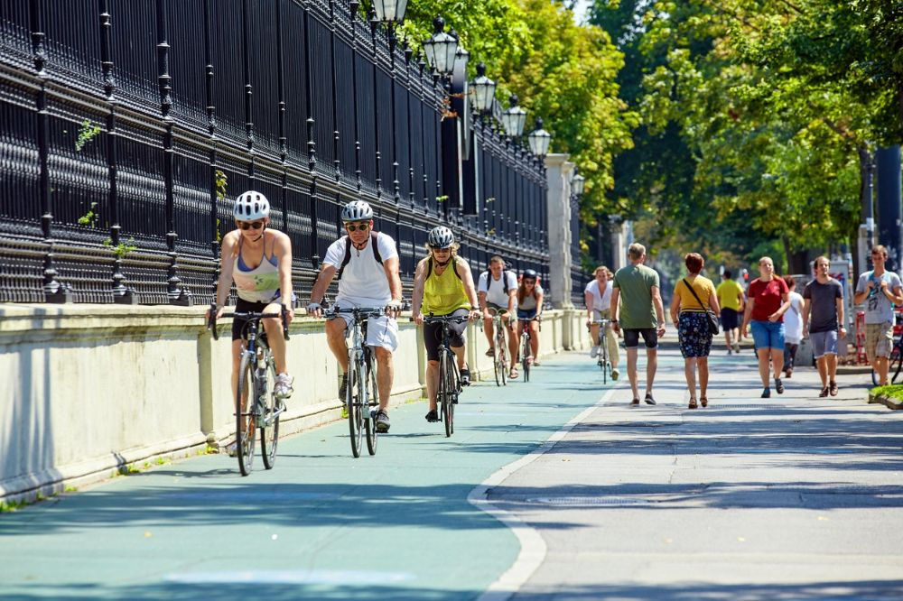 Cycling in Vienna