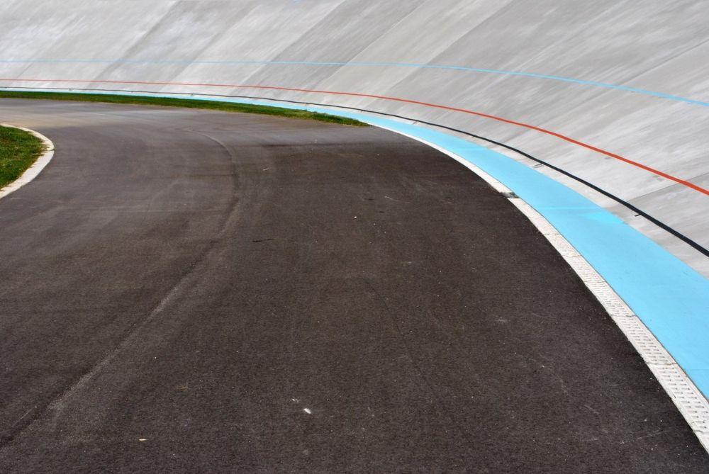 Blue line velodrome