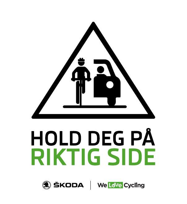 Welovecycling – welovecycling norge – skoda sykkel - vi elsker sykkel – sykkelglede – sykkel i norge – sykkelnyheter – sykkelnytt – norsk sykkelsport – nyheter for sykkel – sykkel – sykling – sykkel for alle - Norges Cykleforbund - Norges Sykkelforbund - sikkerhet - bruk hjelm - del veien - hold deg på riktig side