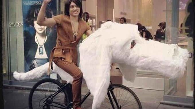 The question is, how important is the bike in a friendship between a boy and a dog-headed dragoon?