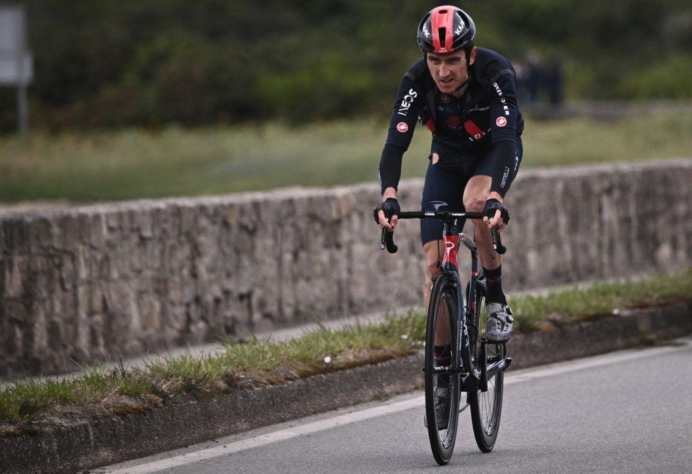 Geraint Thomas at the 2021 Tour de France