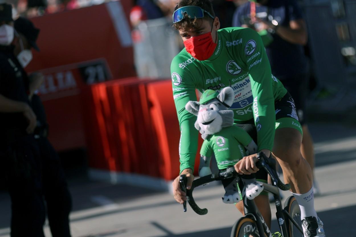 Fabio Jakobsen at La Vuelta