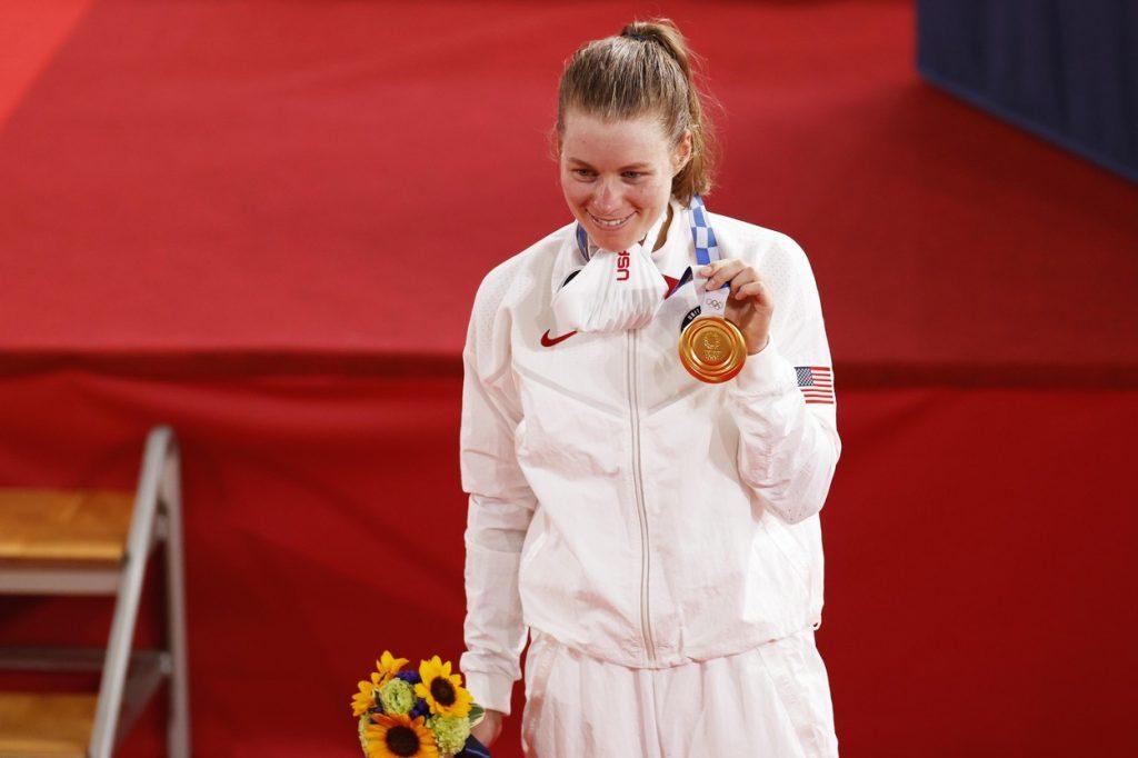 Jennifer Valente at the Olympics