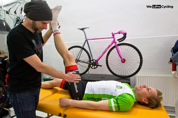 Initial physical assessment - professional bike fitting