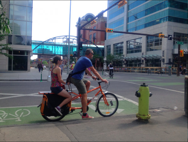 Calgary Cycle Track Keeps Track of Spending