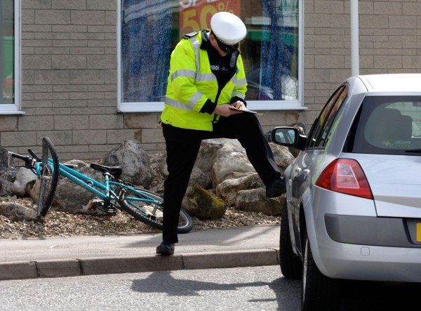 Most of the time, it's hard to feel safe due to the way most cars drive around cyclists.