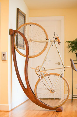 We've got to get a rocking chair for our bikes…