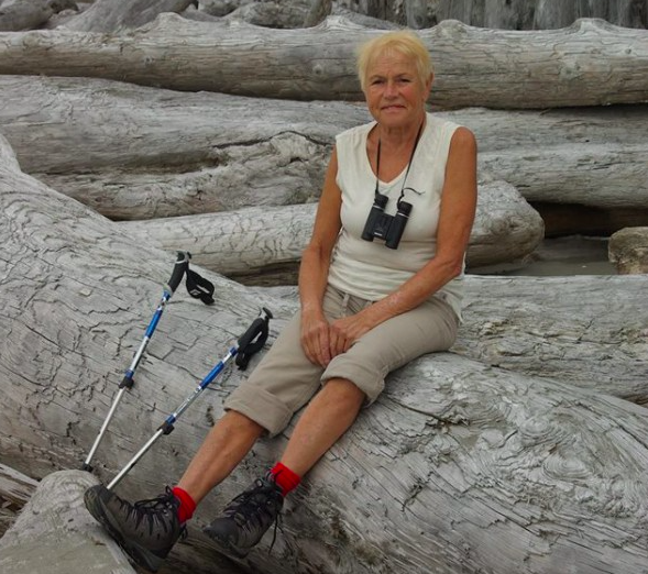 Tina (Tineke) Kraal blocked several trails in the North Shore area of Vancouver with large logs and boulders. Riders first encountered these unwanted obstacles back in August last year.