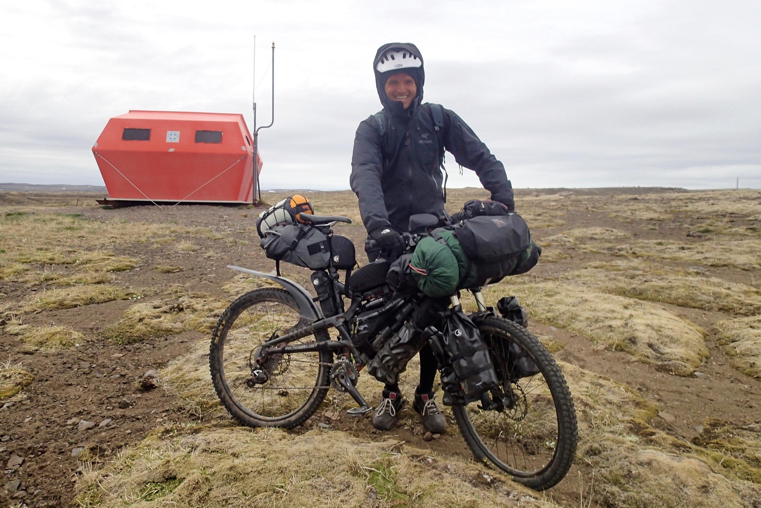 Luke, the Australian bikepacker