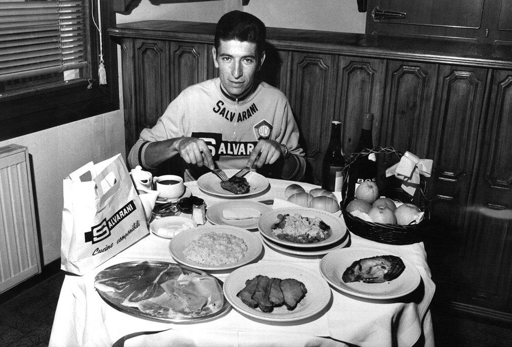 Daily ration of Felice Gimondi.