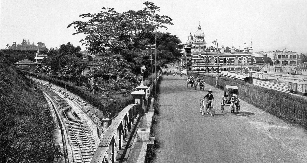 Ruch rowerowy w Kuala Lumpur