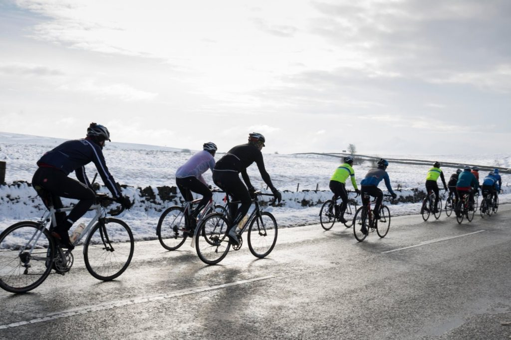 Road Cycling in Winter