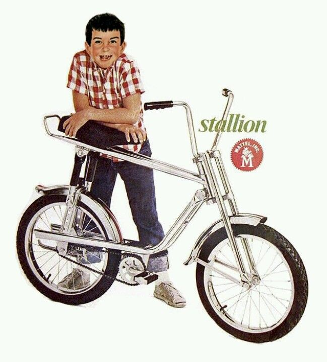 Mattel's V-RROOM! bikes...