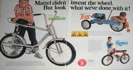 See 'em, hear 'em, get 'em wherever bikes are sold.
