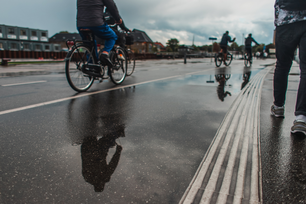 Bicycle lane Copenhagen