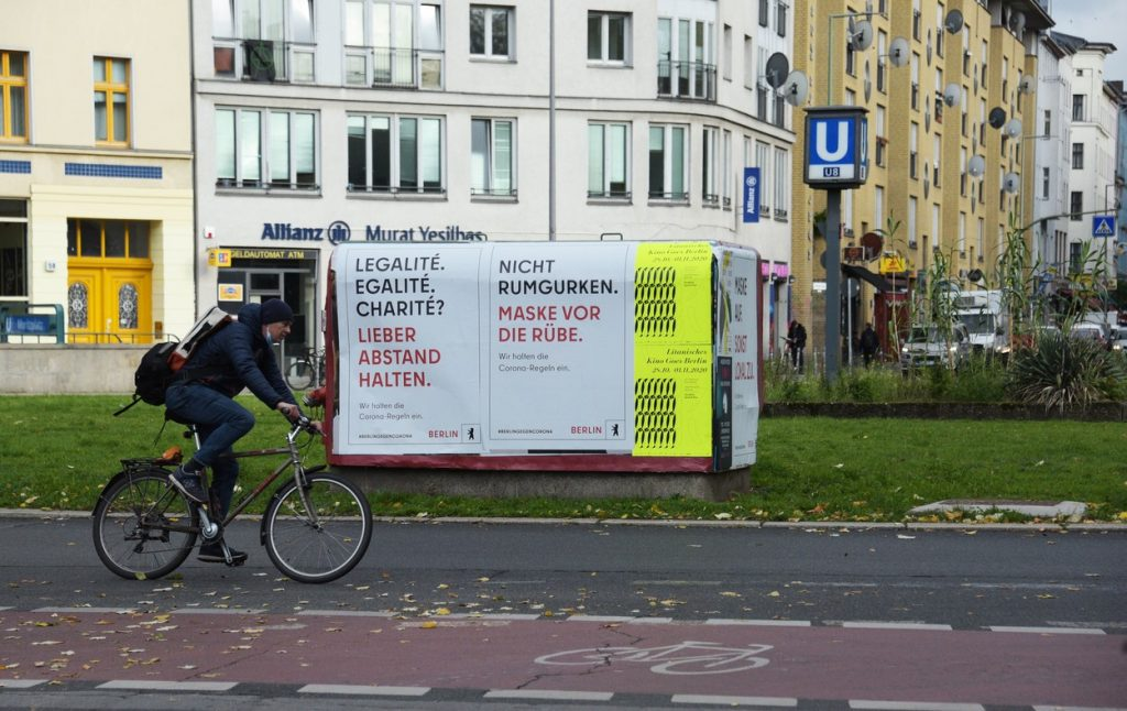 Berlin Kreuzberg Cyclist