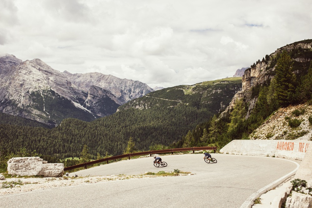 Cycling in Alps