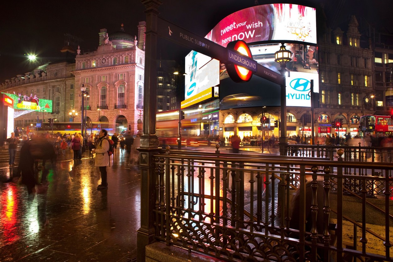 Winter London