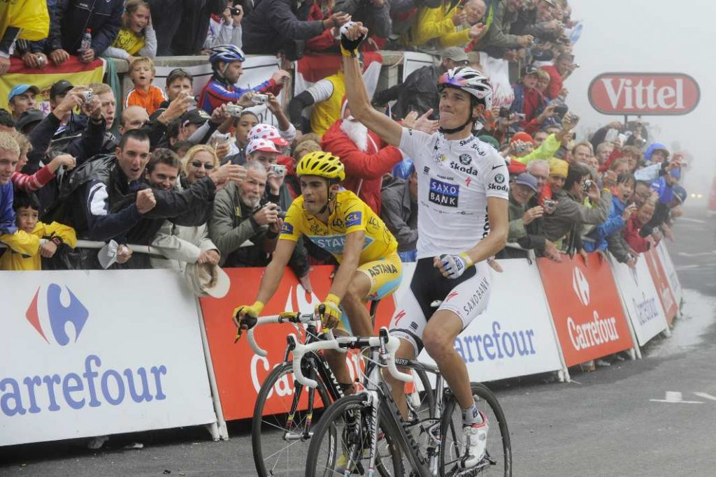 Andy Schleck at the Tour