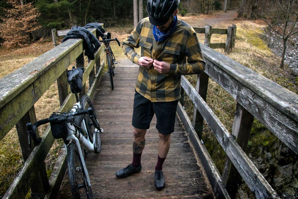 Bikepacking shirt