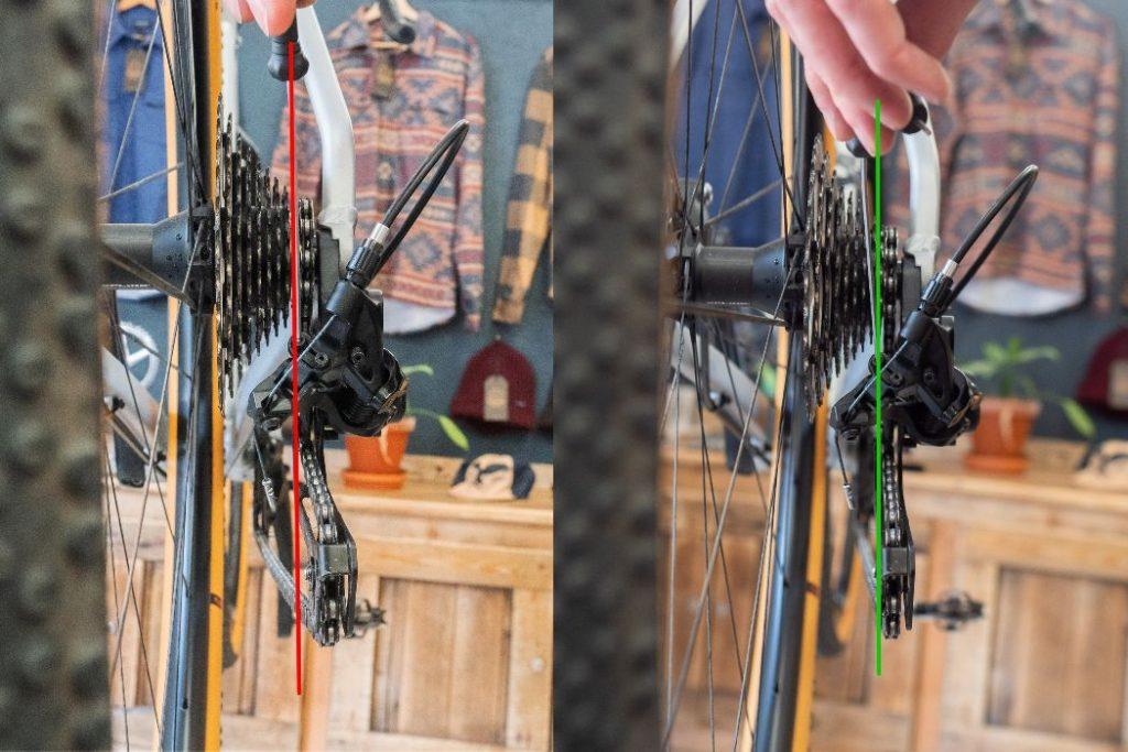 Adjusting bike shifters