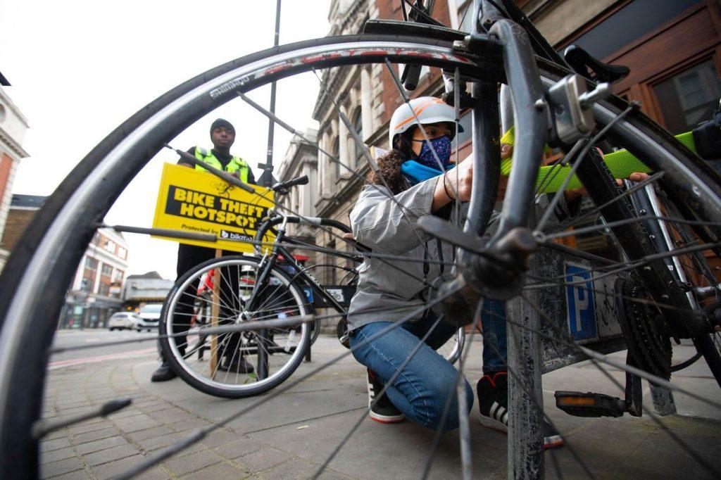 Bike theft hotspots