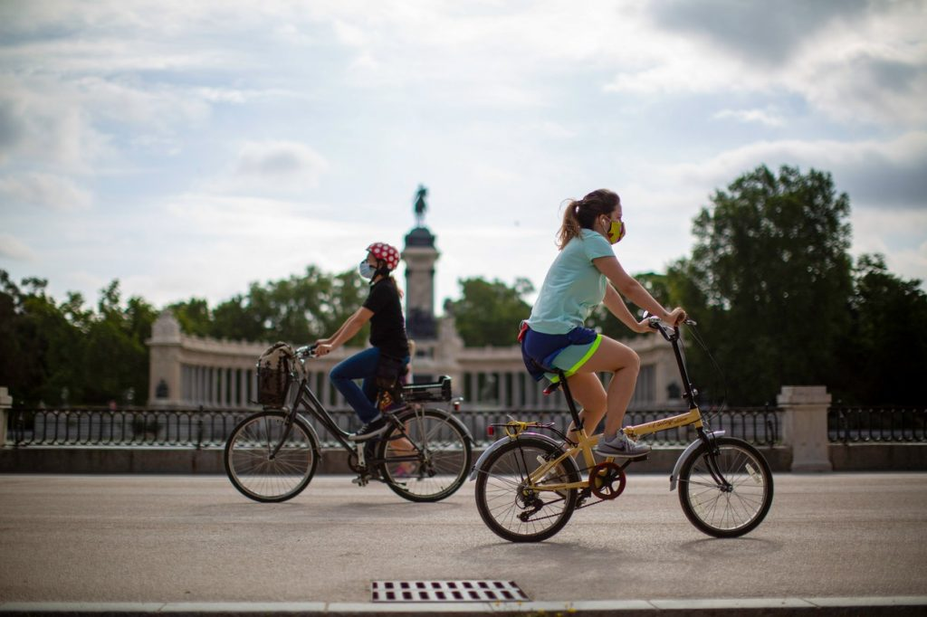 Cycling in Madrid