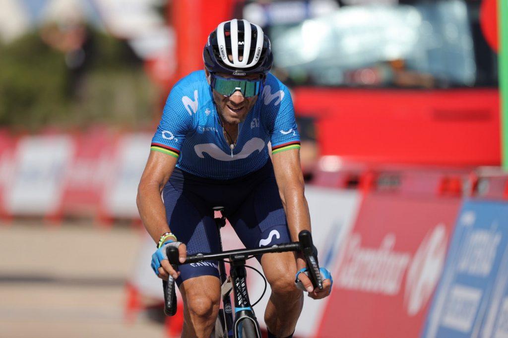 Alejandro Valverde at La Vuelta