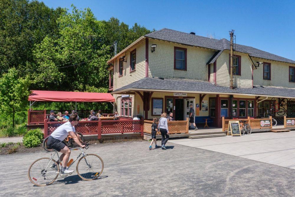 Cyclist café