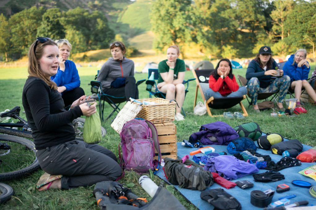 Women's Bikepacking Seminar