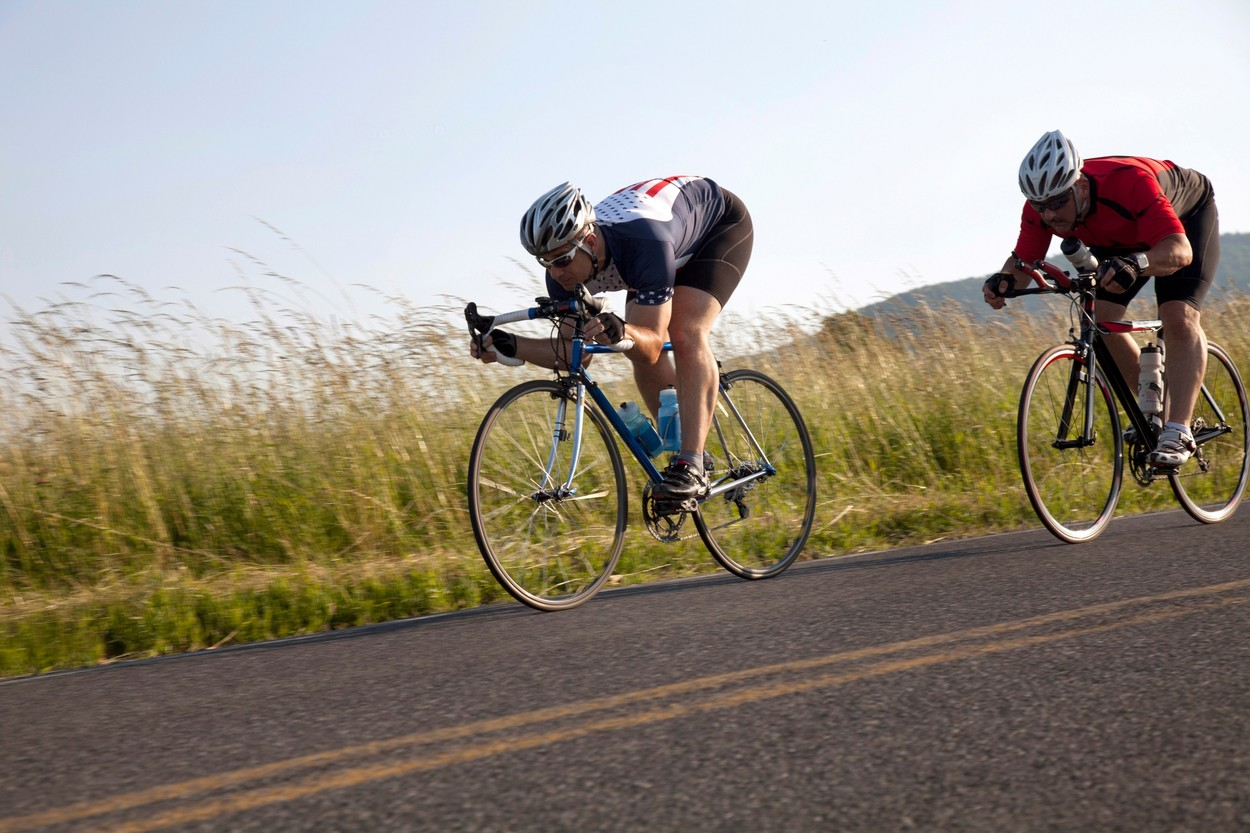 Road cyclists