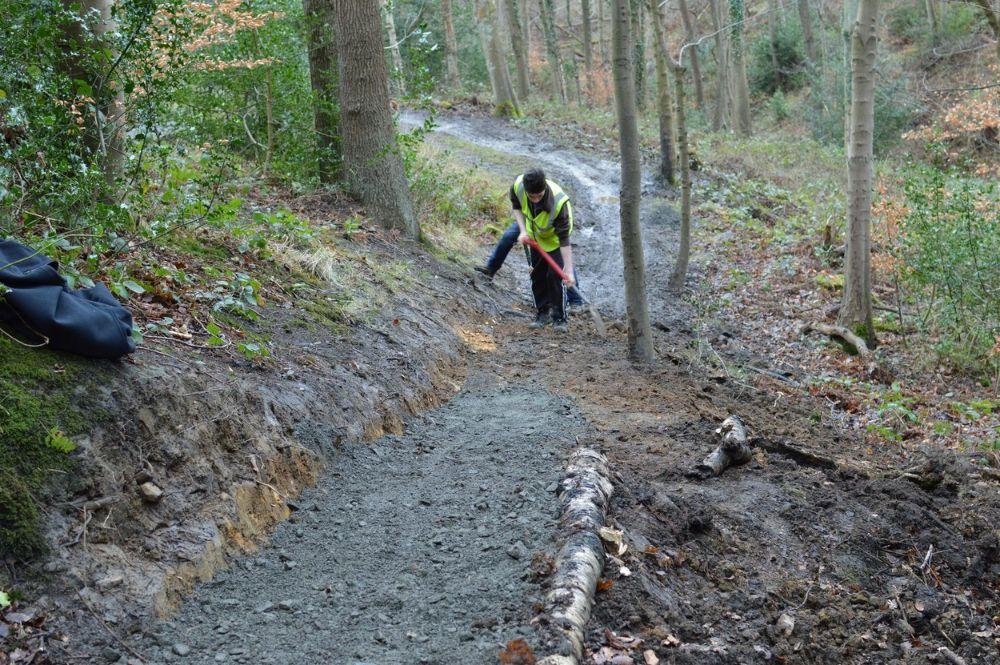 Building a MTB trail