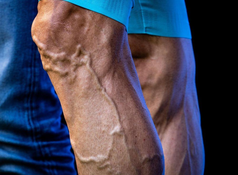 Cyclist legs