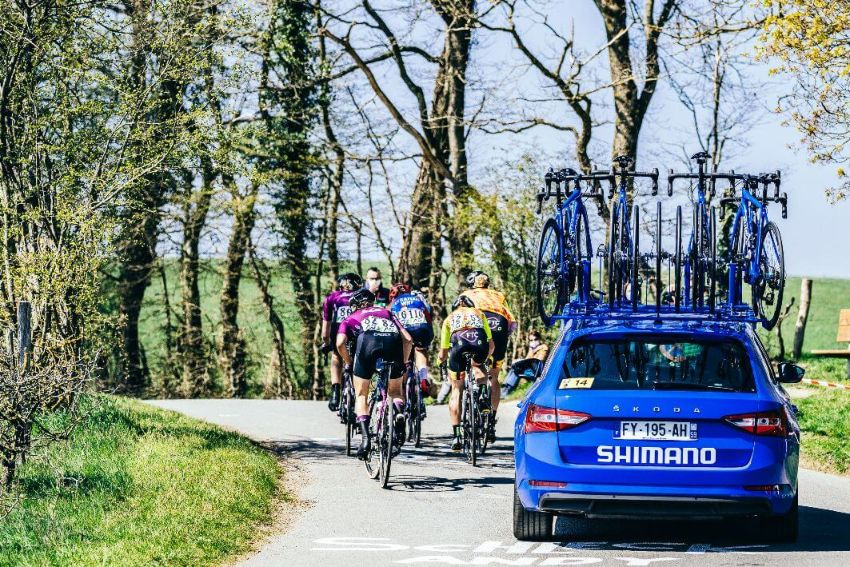 Shimano neutral car in action.