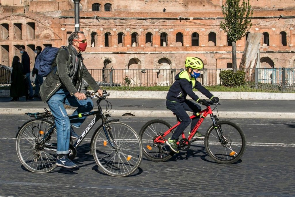 Cycling in Rome